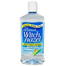 Dickinson Brands, Witch Hazel, for Face & Body,  (473 ml)100% Natural Astringent