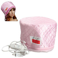 Electric Hair Thermal Treatment Beauty Steamer SPA Nourishing Hair Care Cap Hat