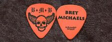 BRET MICHAELS BAND 2008 Concert Tour Guitar Pick!! Bret's custom stage POISON