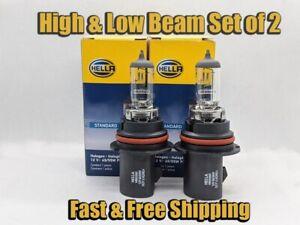 High & Low Beam Headlight Bulb For Chevrolet Equinox 2005-2009 Set of 2
