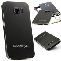 Urcover® Samsung Galaxy S6 Aluminium Schutz Hülle Back Case Cover Tasche Etui