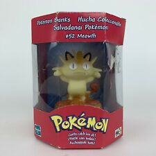 Pokemon Bank Meowth #52 Limited Edition Applause 1998 New & Sealed Money Bank