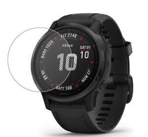 For Garmin Fenix 6X / 6X Pro Tempered Glass Screen Protector Watch