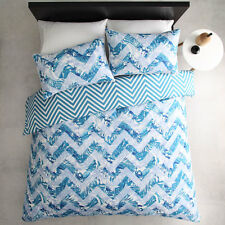 ESQUE by Logan and Mason TAHITIAN TEAL King Size Bed Doona Quilt Cover Set