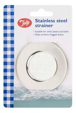 TALA STAINLESS STEEL SINK BATH PLUG HOLE STRAINER, BASIN HAIR TRAP DRAINER COVER