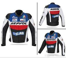 "BRAND NEW ""HONDA"" GAS REPSOL CE APPROVED MotoGP Motorcycle Racing Leather Jacket"