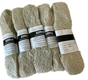 5 Hanks 100% Baby Camel Yarn Classic Elite Blithe Color 60675 Discontinued