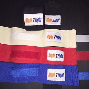 Boxing Muay Thai MMA Protective Inner Hand Wraps PAIR 100% cotton 3 Meters