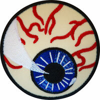 Embroidered Eyeball Iron On Patch Sew On Badge Clothes Eye Embroidery Applique