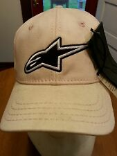 "ALPINESTARS WOMENS ""CORPORATE"" OS FLEXFIT HAT, COLOR IS LIGHT PINK - 621555"