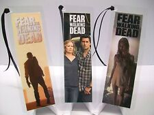 FEAR THE WALKING DEAD Bookmark 3 Piece Set Collectible Complements poster dvd