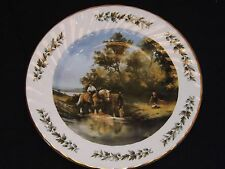 Royal Imperial Bone China Plate Charms Of Country Life The Horse Pond Edwardian