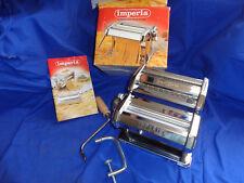 Imperia Pasta Pastry Maker Machine SP 150 Italy Fettuccine Tagliatelle w Recipes