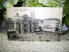 ANGERS PLACE du RALLIEMENT POSTCARD UNPOSTED 1930 'S WESTERN FRANCE
