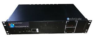 Fail-Safe Transfer Switch Sentry Switched Cabinet PDU 16 C13 Output CW-16HF2A452
