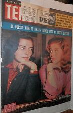 TEMPO 3 Gennaio 1953 Annamaria Marisa Pierangeli Chaplin Gino Bartali Von Papen