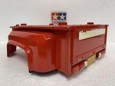 VINTAGE TAMIYA ORIGINAL MODEL 1981 TOYOTA HILUX BARE REAR CAB SHELL BOX ART RED