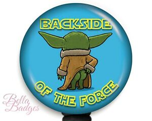 Baby Yoda Backside of the Force Badge Reel