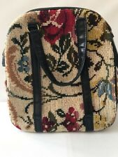 Vintage Carpet Bag Purse Tote