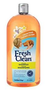 PetAg Fresh 'n Clean Scented Dog Shampoo - Classic Fresh Scent - For Manageable
