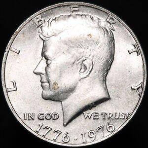 1976 | U.S.A Kennedy 'Independence Hall' Half Dollar | Cupro-Nickel | KM Coins