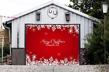 Christmas Single Car Garage Door Cover Banner MADE IN THE USA FAST SHIPPING GD69