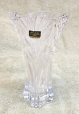 Noritake Full Lead Crystal Vase Made in Germany