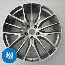 "1 x Véritable Maserati 21"" Ghibli Quattroporte QP Titano Gris Avant Roue Alliage"