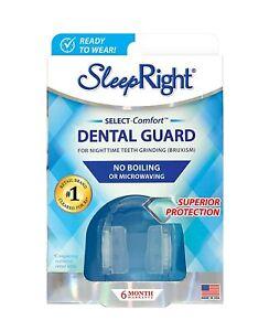 SleepRight Select NoBoil DentalGuard,SleepingTeethGuard,PreventTeethGrinding