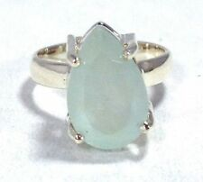 Unbranded Pear Natural Aquamarine Fine Rings