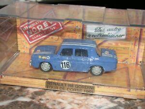 Véhicule miniature auto 1 : 43  RENAULT  R8 GORDINI TOUR DE CORSE 1965  NOREV
