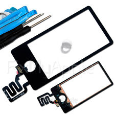 iPod Nano 7 OEM 7th Gen Black Front Glass Touch Screen Digitizer Replacement