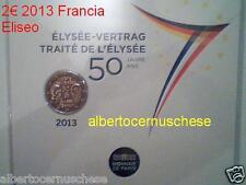 coin card 2 euro 2013 fdc FRANCIA france frankreich Eliseo Elysée Франция フランス