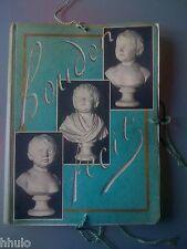 Maquette Originale manuscrit livre L'enfance dans l'oeuvre de Houdon Courty 1953
