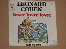 """LEONARD COHEN -Lover Lover Lover- 7"""" 45"""