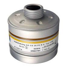 Dräger A2B2E2K2Hg NO CO P3RD Filter DIN EN Gewinde für Vollmaske Ablaufd. 2023