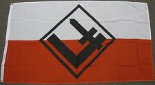 3X5 POLISH NATIONAL REBIRTH FLAG OLD POLAND BANNER F176