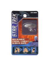 Star Trek: TNG Enterprise D Image Reusable Phone/Tablet Screen Wipe NEW UNUSED