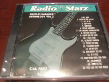 RADIO STARZ CD+G KARAOKE BEATLES VOL 2 RSZ-622 SEALED 20 TRACKS