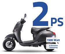 Elektroroller Elektromotorroller 1500W 2PS 45km/h Roller Elektro Motorroller NEU