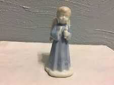 New listing Angel Cherub with candle - Figurine Porcelain- By Roman Inc Studio