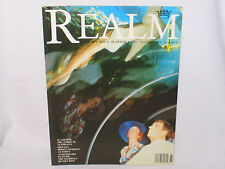 REALM MAGAZINE # 1 ISSUE WINTER 88/89 DIANA & ALL ROYALS YORKS IN AUSTRALIA UK