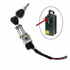 Ebike Battery Parts TDR Ebike Battery case Power Lock & Key / Ebike Lock & Key