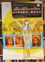 CIRCUS-WELT - Poster Filmplakat - JOHN WAYNE, RITA HAYWORTH, Claudia Cardinale