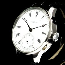 Vintage Mens Wrist Watches MATHEY Mechanical Stainless Steel Swiss Men's Watch