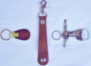 """King Ranch Running """"W"""" Key Chains for Ford King Ranch Edition Truck/SUV Owners"""