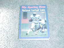 1989 NFL Football Register Media Guide Seattle Seahawks Steve Largent Cover