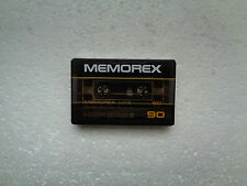 Vintage Audio Cassette MEMOREX High Bias II 90 * Rare From USA 1982 *