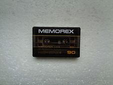 Vintage Audio Cassette MEMOREX High Bias II 90 * Rare From USA 1982 *