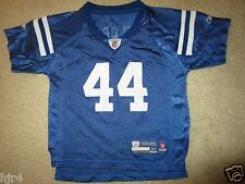 Dallas Clark #44 Indianapolis Colts NFL Reebok Jersey Toddler 4T